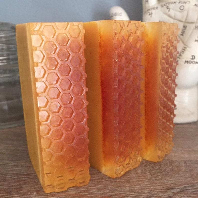 TURMERIC HONEY and CREAM  soap bar with turmeric raw image 0