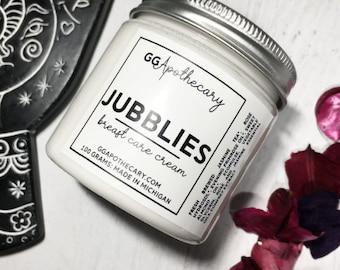 JUBBLIES • cream with evening primrose and jasmine • for decolletage • organic