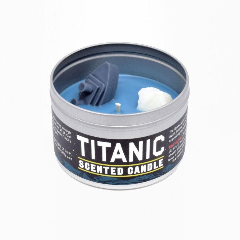 Titanic Candle  Funny Candle  White Elephant Gift  Funny image 0