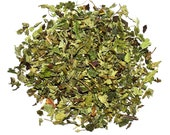 Lemon Balm Tea, Melissa Tea, decaffeinated, the tea is flavorful and aromatic, it also can be good for cosmetic and culinary uses, loose tea