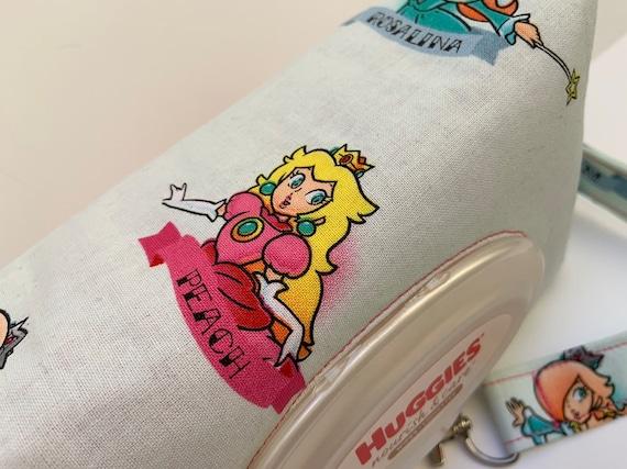 Super Mario Bros Princesses Peach Rosalina Daisy Print Diaper Etsy