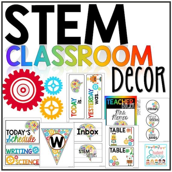 Stem Classroom: STEM Classroom Decor