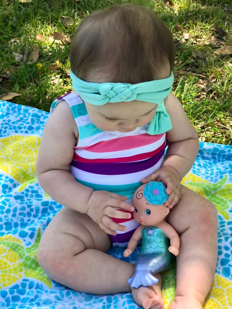 Newborn Headband Baby Turban Headbands Baby Bows Knit Baby Headband Newborn Bows Sailor Knot Knot Bow Headband Baby Girl Headband