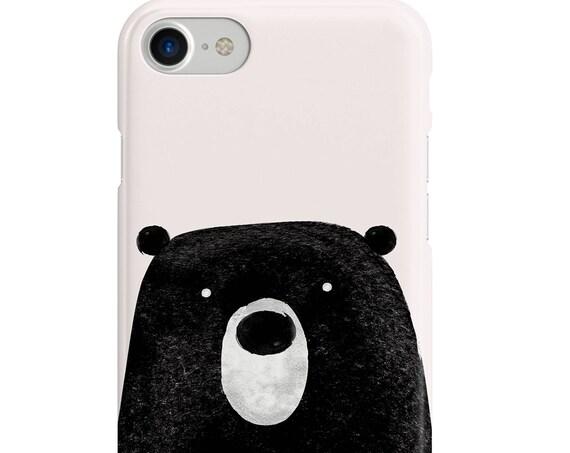 iPhone Case, Bear Case, Animal Case, Cute, Autumn, illustration case, tumblr case, iPhone 7, iPhone 8, iphone 6, iPhone 5S SE 5s,