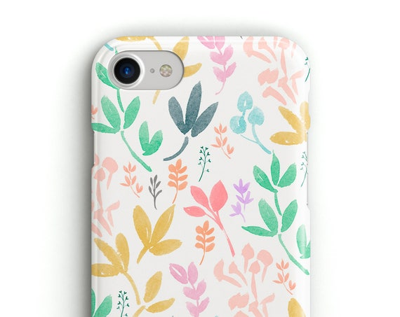 White Flowers - Phonce Case