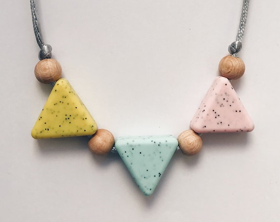 Teething Necklace - Memphis
