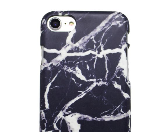 Black Marble - Phone Case