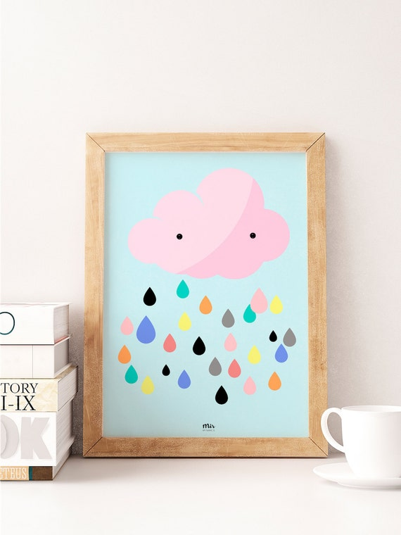 Color Cloud - Ilustración Infantil
