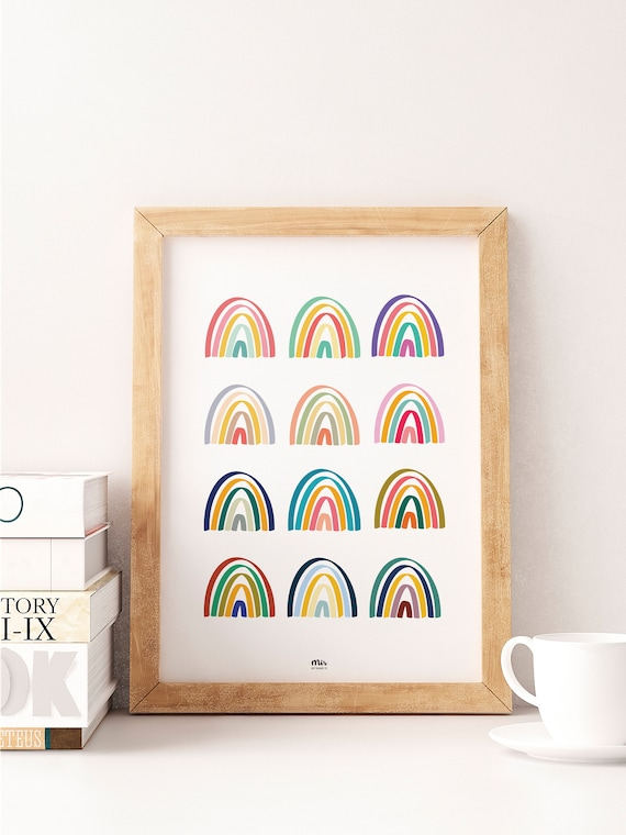 Rainbow Collection - Print