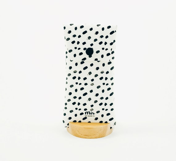 Funda Gafas - Brush Dots