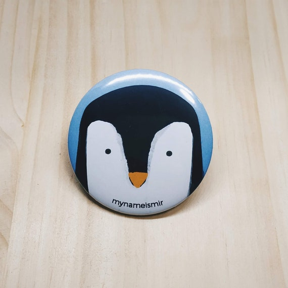 Cute Penguin - Magnet bottle opener for the fridge / Mirror / Badge