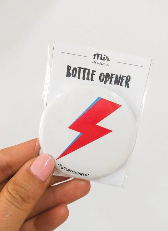 Magnet bottle opener for the fridge - wedding - house - bowie lighting