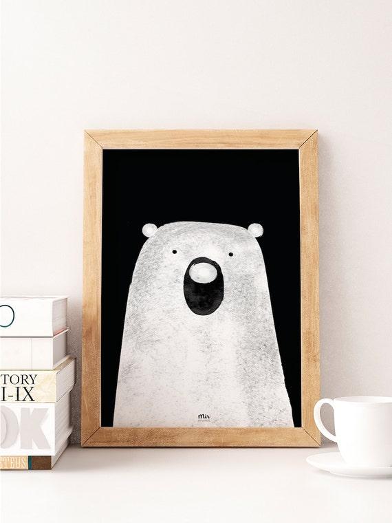 Polar Bear - Ilustración Infantil