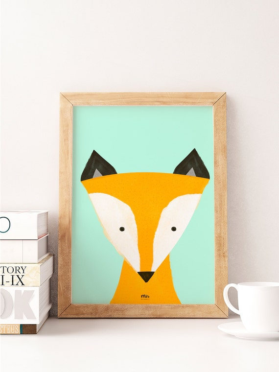 Little Fox - Ilustración Infantil