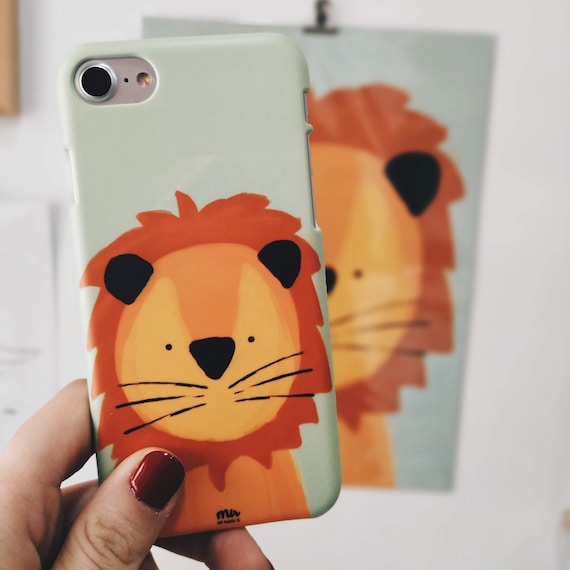 Sweet Lion - Phone Case