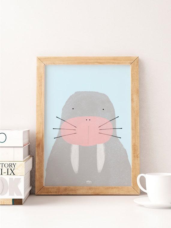 Walrus - Ilustración Infantil