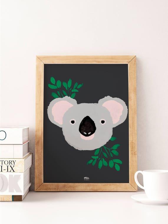 Koala - Ilustración Infantil