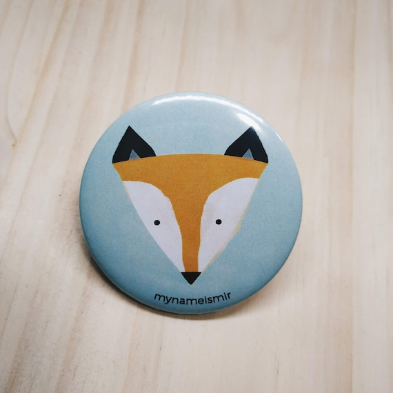 Little Fox - Magnet bottle opener for the fridge / Mirror / Badge