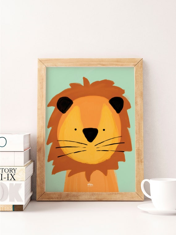 Sweet Lion - Ilustración Infantil