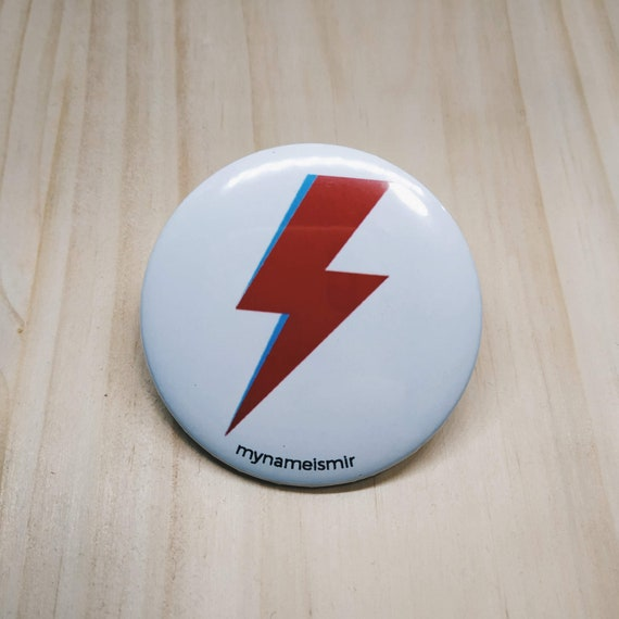 Bowie lighting - Magnet bottle opener for the fridge / Mirror / Badge