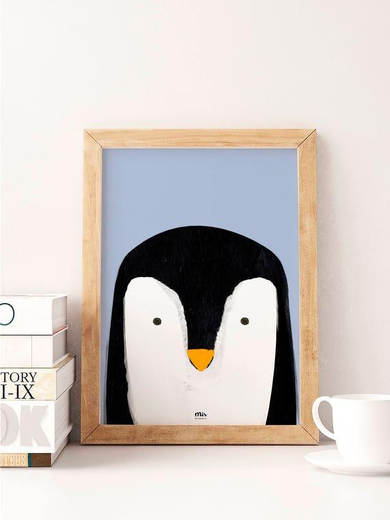 Cute Penguin - Ilustración Infantil