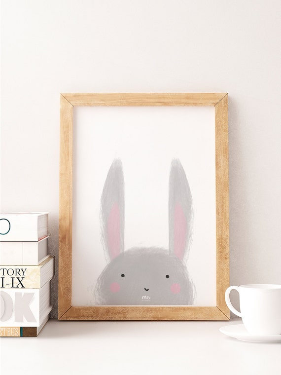 Little Bunny - Ilustración Infantil