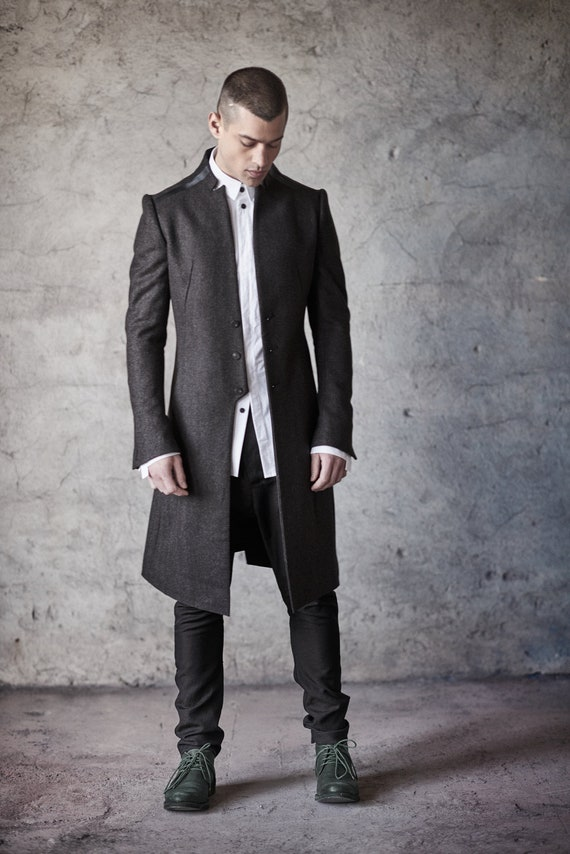 collarless jacket real men's style