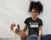Kinky Girl Women's short sleeve t-shirt | Natural Hair T Shirt | African American t shirt gift