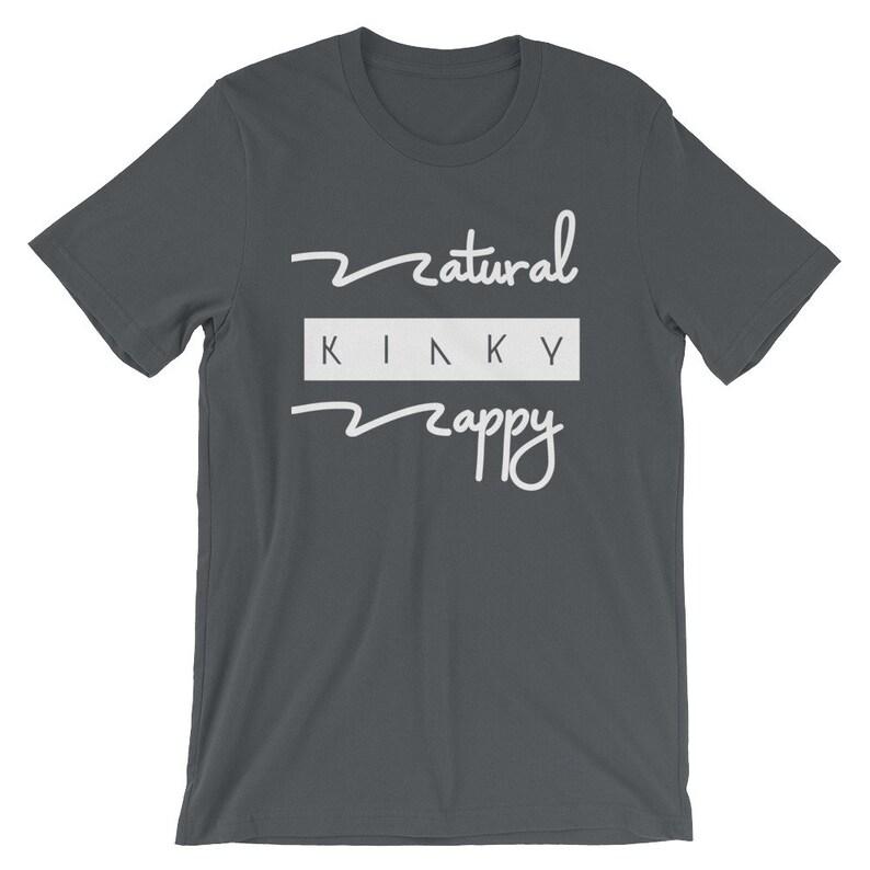 Natural Kinky and Nappy Women's  Grey short sleeve t-shirt image 0