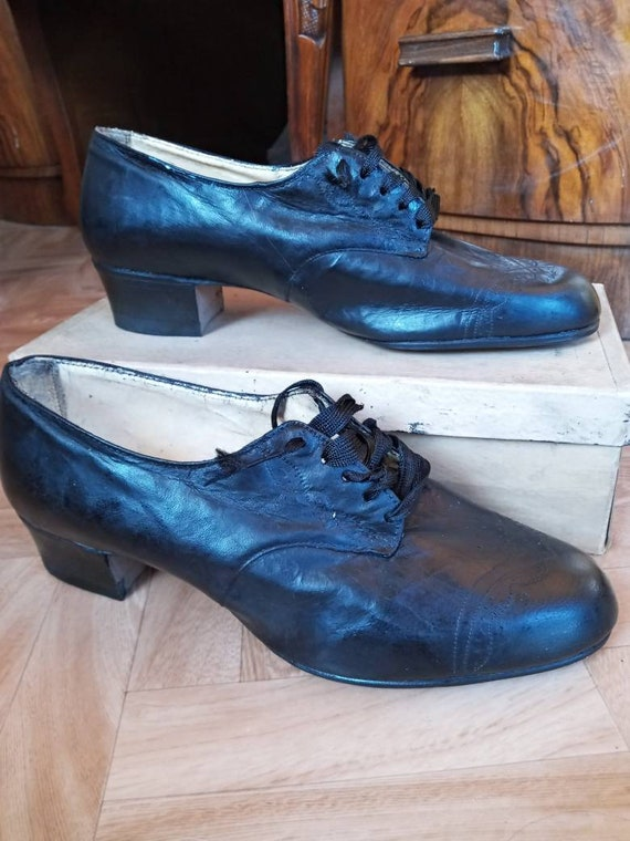 1940s 1930s Nurse shoes oxfords WWII
