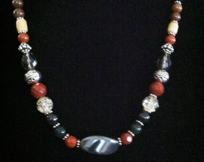 Overall Physical Health, healing design, Sedona, Reiki charged, Gemstone necklace, Reiki charged, Charged, Metaphysical Jewelry