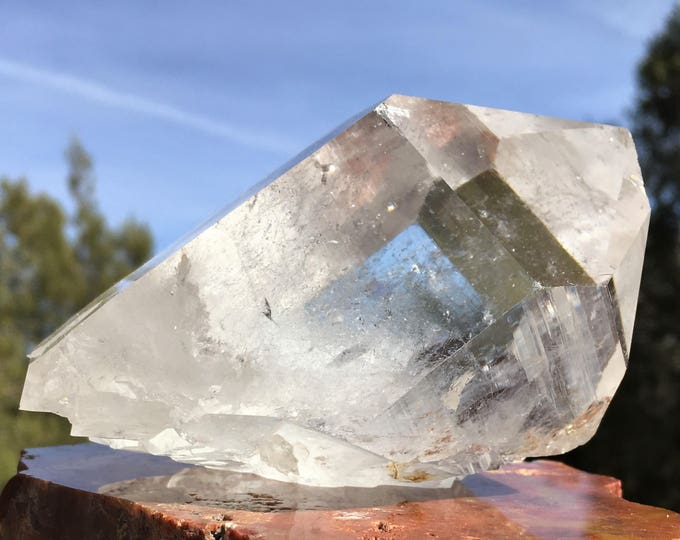 LARGE CRYSTALS, SEDONA charged, Display, Meditation Tools, Healing Crystals, Metaphysical, Grid, Garden Statues