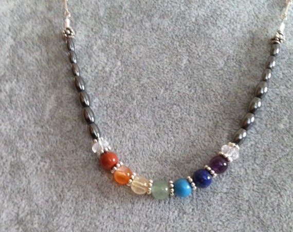 Full Chakra Rainbow, 7 chakra balancing, Yoga, Metaphysical, Sedona, Vortex charged, Affirmation, Sedona Jewelry