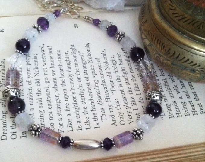 One with the Goddess, Crown Chakra, 7th Chakra, Sedona Charged, Yoga, Healing, Metaphysical, Healing Jewelry, Mommy & Me, Matching, Crystal