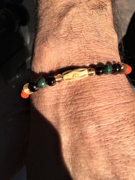 Father Son Bracelets Overall Physical HEALTH and TURQUOISE POWER Metaphysical Jewelry, Sedona and Reiki Charged, Psychic Ability Enhancement