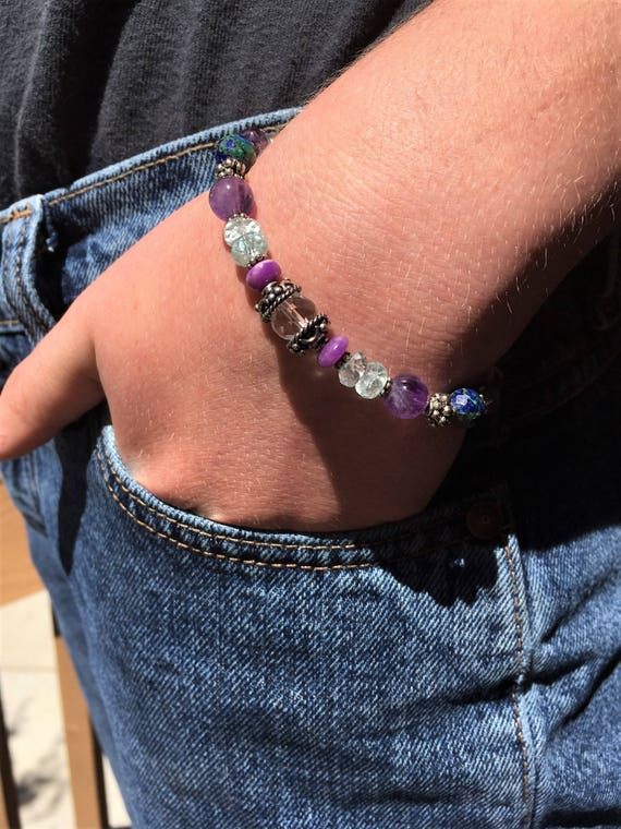 PSYCHIC ENHANCEMENT and PROTECTION Bracelet Sedona & Reiki Charged Metaphysical Jewelry, Charged Men and Women Psychic Protection Bracelet