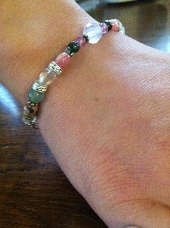 Open Heart Bracelet, Heart Chakra, Chakra Balancing, Sedona,  Reiki Charged, Mother Daughter, Matching, Bracelets, Crystal Healing, Yoga
