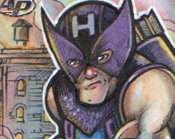 Ant Man and Wasp Artist Return: Hawkeye