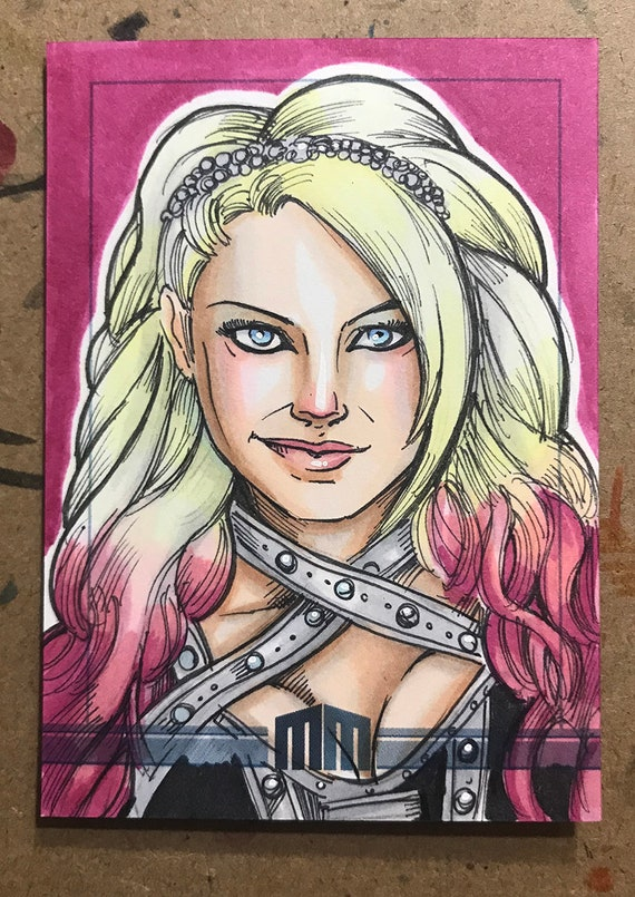 Sketch Card: Alexa Bliss