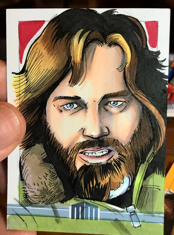Sketch Card: Kurt Russell as Macready from the Thing