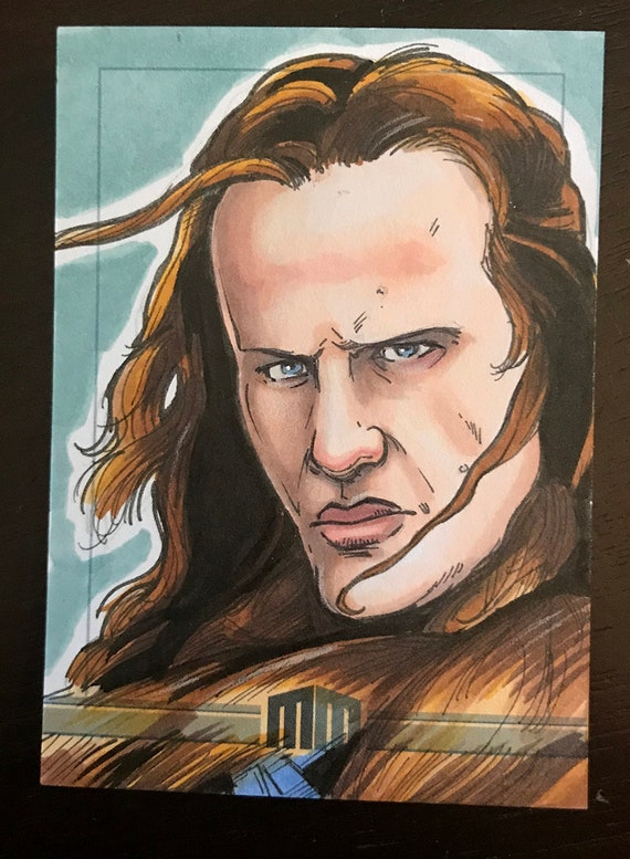 Sketch Card: Connor Macleod, the Highlander