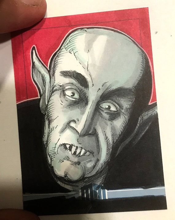 Sketch Card: Nosferatu