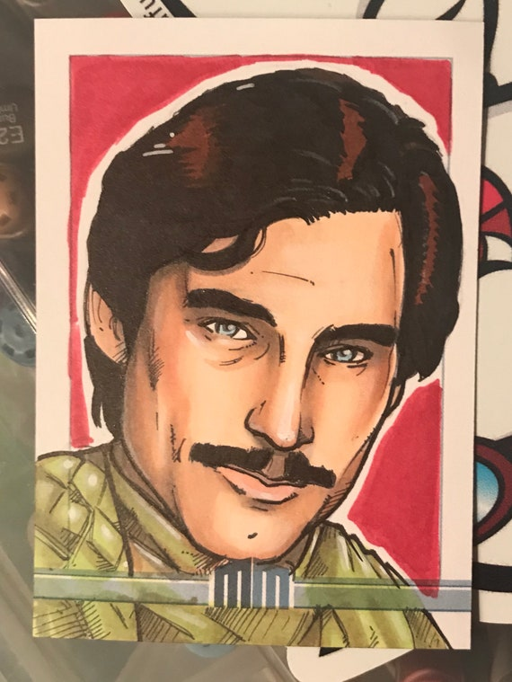 Sketch Card: Prince Barin from Flash Gordon