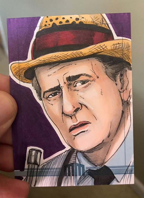 Sketch Card: Kolchak the Night Stalker