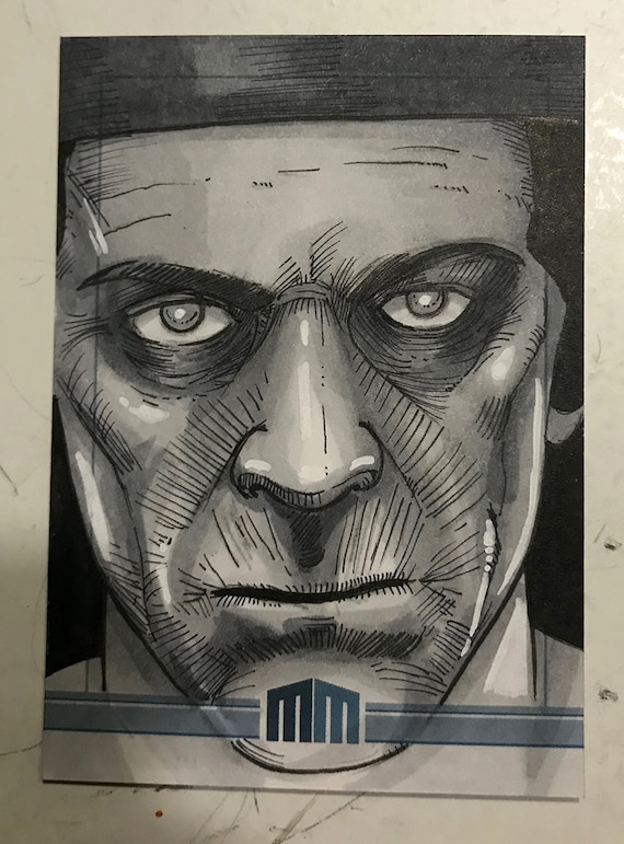 Universal Monsters The Mummy Sketch Card
