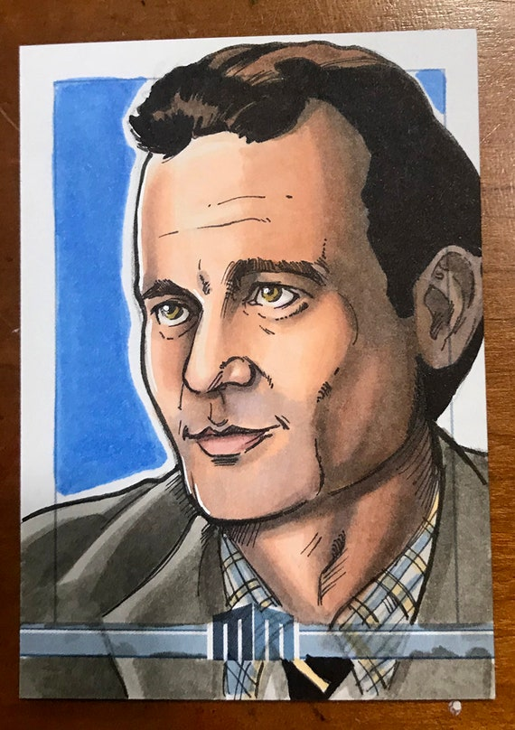 Sketch Card: Peter Venkman