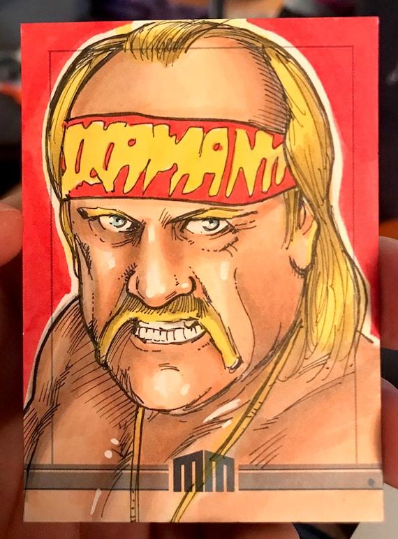 Sketch Card: Hulk Hogan