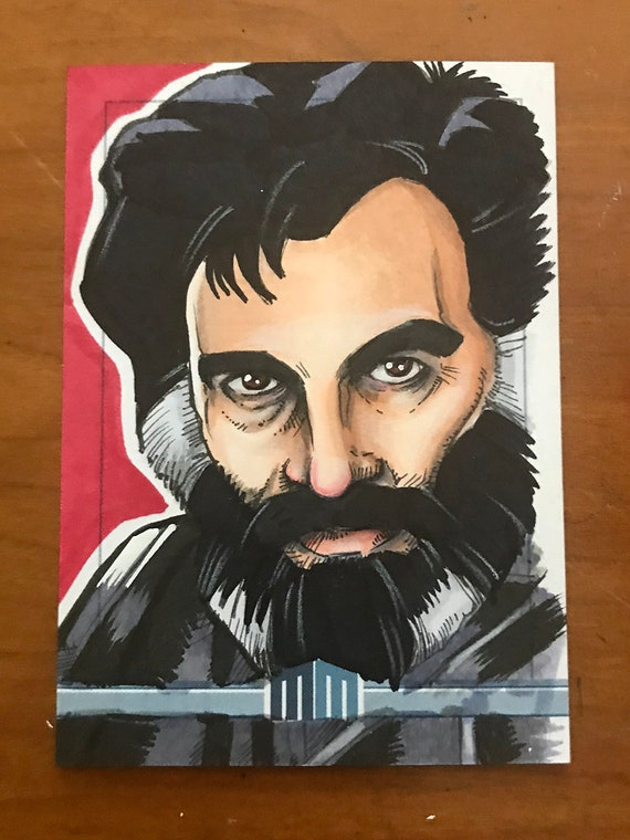 Sketch Card: Dr. Hans Reinhardt from the Black Hole