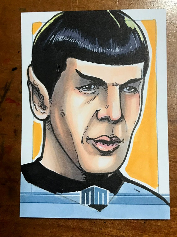 Sketch Card: Mr. Spock