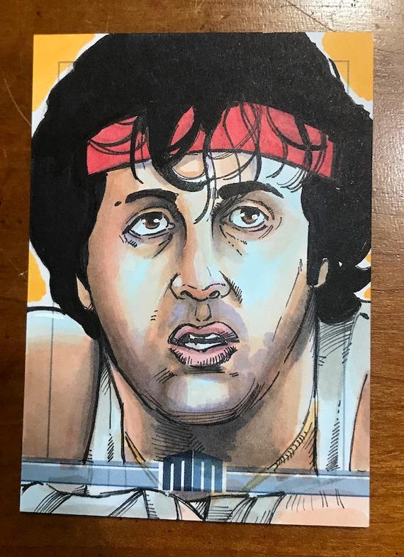 Sketch Card: Rocky Balboa